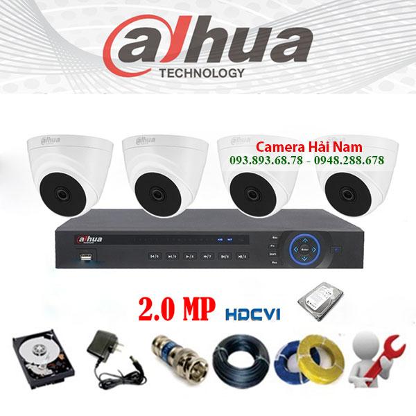 Camera giám sát hệ thống Dahua 2.0MP Full HD 1080P