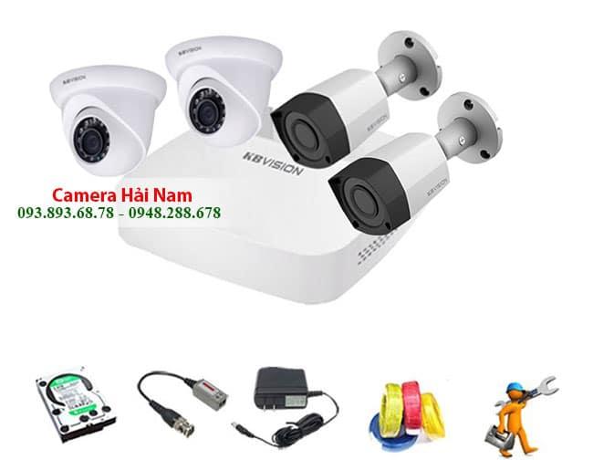 Camera quan sát kbvision 2.0M 1080P Full HD Siêu nét, Căng mượt