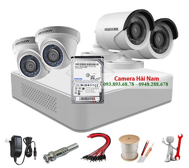 Camera quan sát Hikvision 2.0M 1080P Full HD Siêu nét, Căng mượt