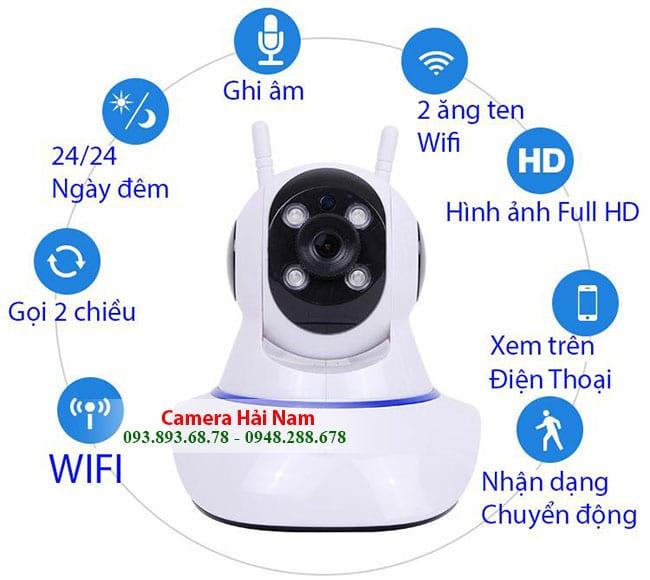 Camera giám sát wifi Yoosee chính hãng 1.3M chuẩn HD 960P