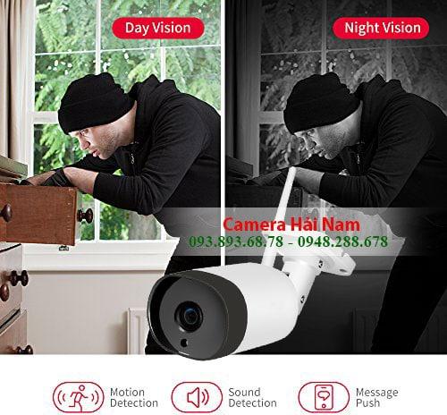 bán camera chống trộm wifi tốt nhất, giá rẻ nhất