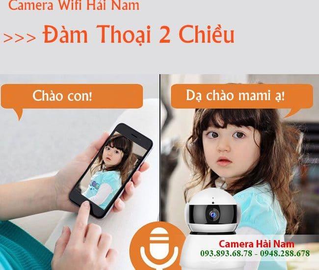 Camera chống trộm báo qua điện thoại, internet tốt nhất, giá rẻ nhất hiện nay
