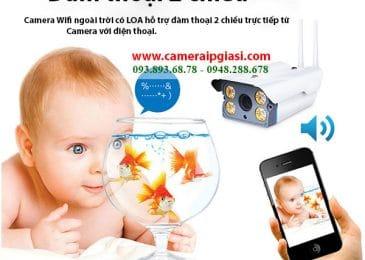 Camera Wifi ngoài trời giá rẻ – HD 960P chống nước 100%