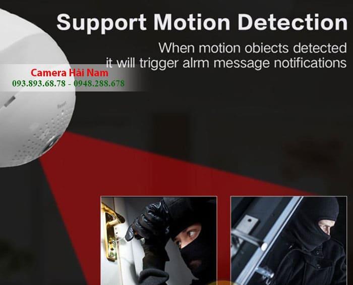 camera ngụy trang bóng đèn quan sát từ xa