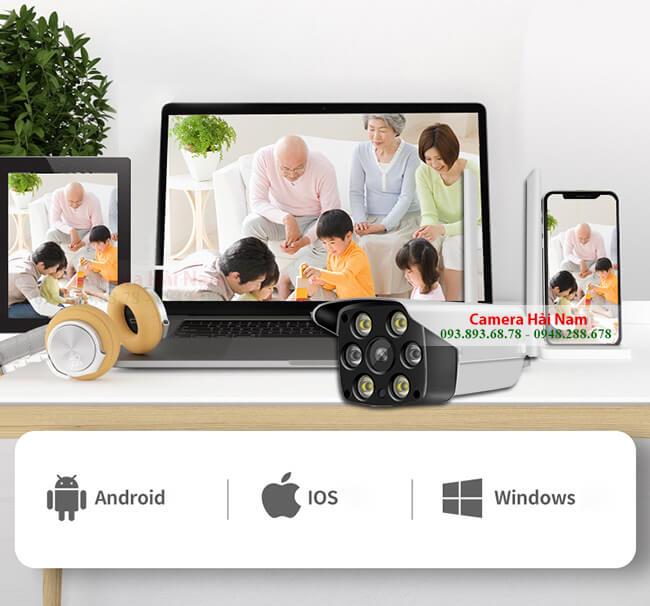 Camera Wifi Ngoài trời Yoosee 2MP Full HD 1080P Giá rẻ, Chống nước 100%