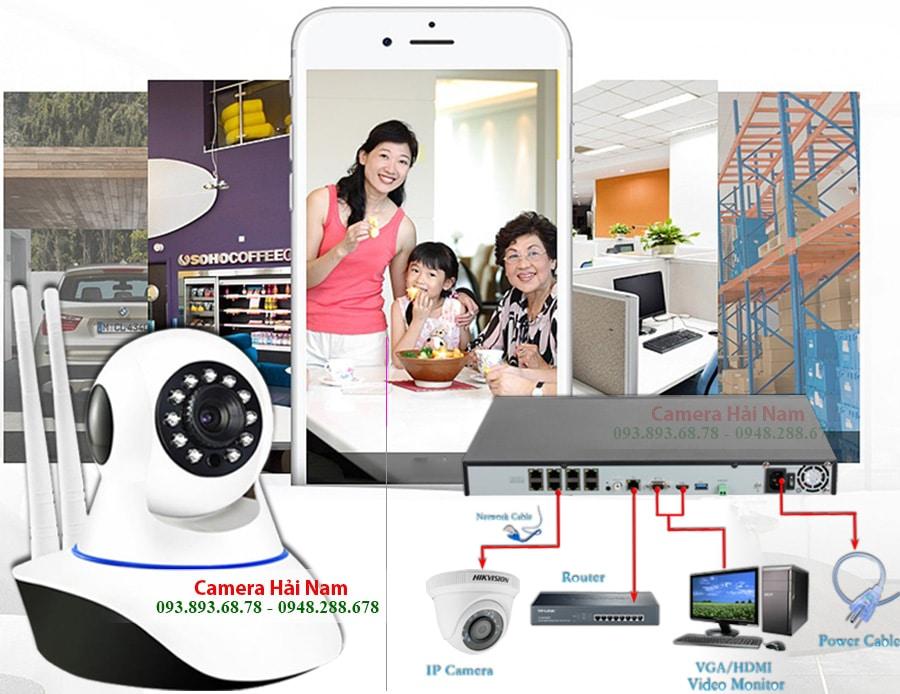 CAMERA YOOSEE 2 RAU HD 720P camera co day