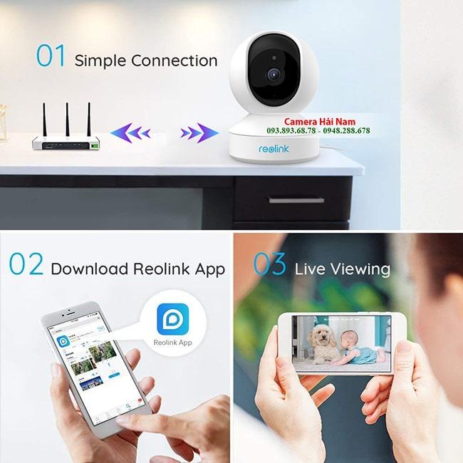 Lắp đặt Camera IP Wifi tại nhà TP. HCM, Chất lượng, giá rẻ nhất