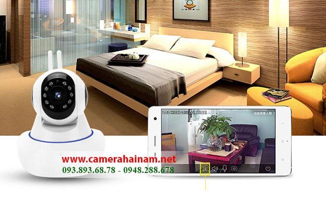 lắp đặt camera ip wifi tại nhà