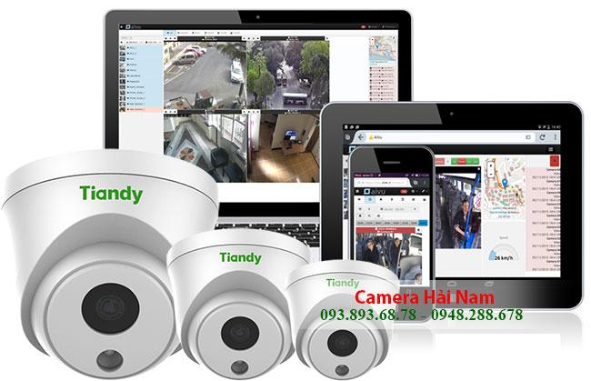 Camera quan sát tiandy cao cấp, thông minh hàng đầu thị trường