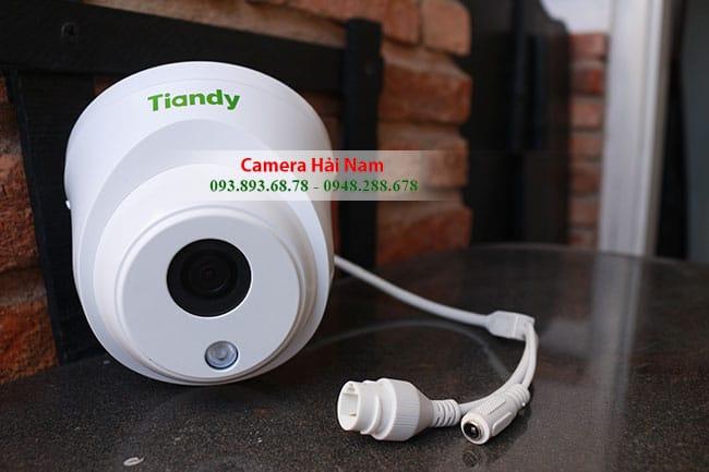 Lắp đặt trọn bộ 04 Camera IP Tiandy Dome Full HD 1080p Đầu ghi PoE chuẩn nén H.265