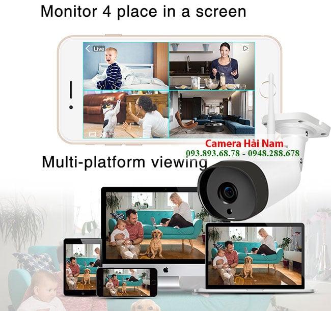 Camera Wifi ngoài trời Hải Nam HN-OD-78-FHD