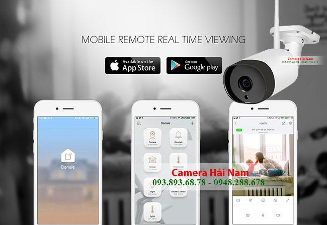 Camera Wifi ngoài trời Hải Nam HN-OD-78-FHD Siêu nét, Căng mượt 2.0 Full HD 1080P Giá rẻ nhất