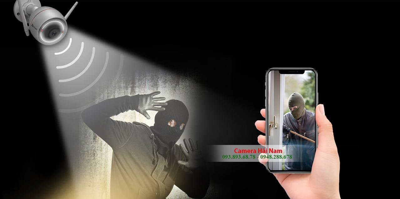 Hệ thống camera chống trộm ban đêm