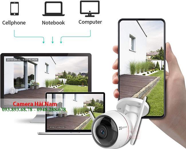 Kinh nghiệm chọn camera giám sát Wifi xem qua điện thoại, internet từ xa