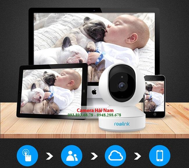 camera ip wifi reolink e1 3mp super hd 2
