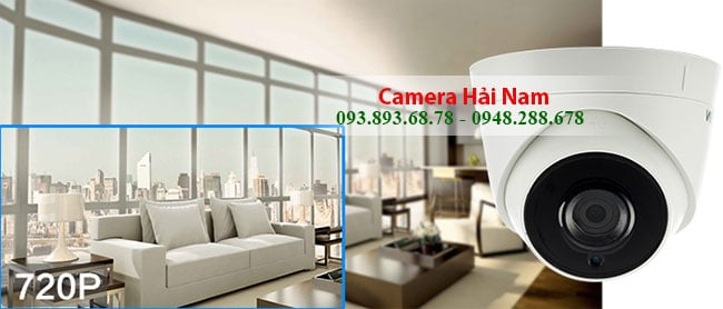 Camera Hikvision DS-2CE56C0T-IT3 Dome Hồng ngoại 40m 1.0M - HD 720P