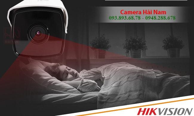 Camera Hikvision DS-2CE16C0T-IT3 Thân Hồng ngoại 40m 1.0M - HD 720P