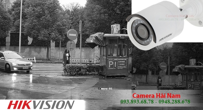 Camera Hikvision 1MP HD 720P model DS-2CE16C0T-IRP