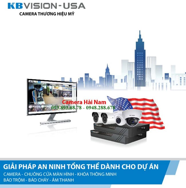 Camera KBVision KX-1004C4 HD 720P 4 IN 1 Dome Hồng ngoại 20m