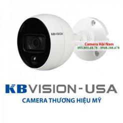 Camera KBVision KX-2001C.PIR 2MP 1080P Full HD hỗ trợ nhận diện chuyển động