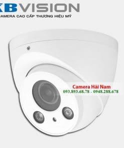 Camera KBVision KX-NB2004MC 2M hồng ngoại 60m, hỗ trợ Night Breaker, vỏ nhôm siêu bền