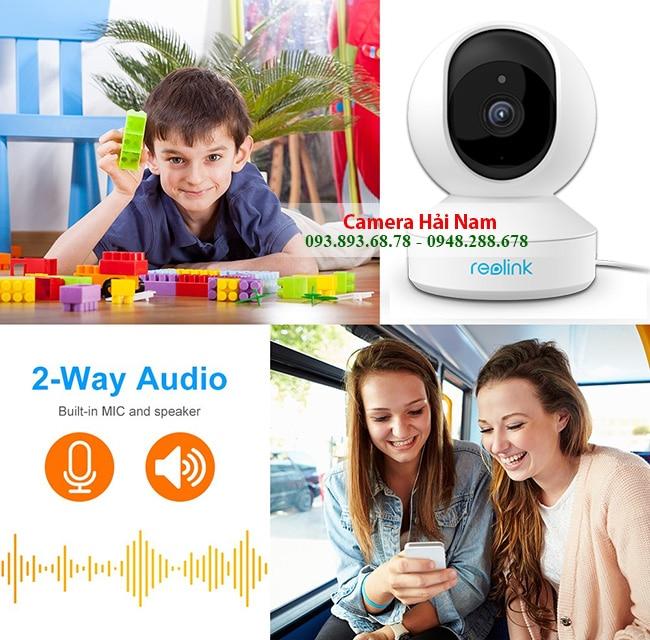 Camera IP Wifi Reolink E1 Pro 360◦ 4.0MP (2560*1440)p siêu nét, đẳng cấp Châu Âu