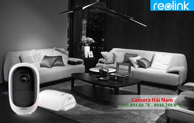 Camera dùng PIN Reolink Argus 2 Full HD 1080P sắc nét, góc cực rộng 130° Hồng Kông