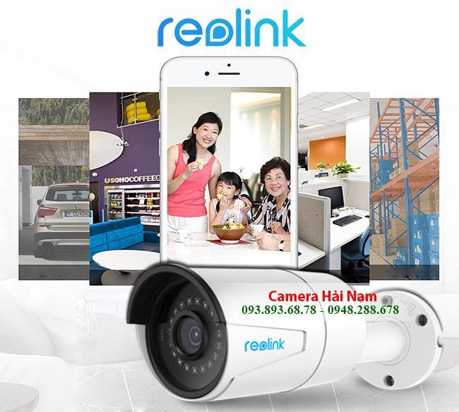 Camera ngoài trời Reolink siêu nét RLC-410W 4MP 2560*1440p, IR 30m