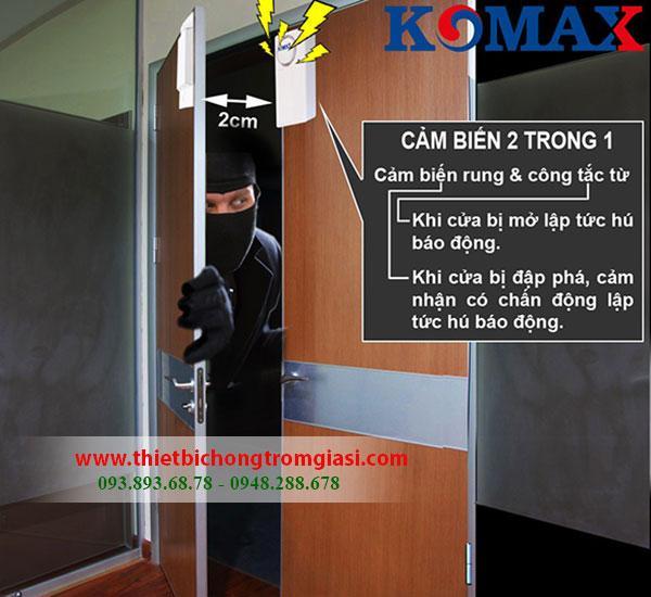 Thiết bị chống trộm Komax dùng sim KM-903G cao cấp đến từ Hàn Quốc, giá rẻ nhất GIẢM 39%