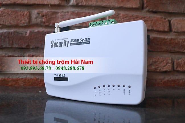 Thiết bị chống trộm dùng sim Guardsman GS-3500 bảo vệ gia đình liên tục 24h