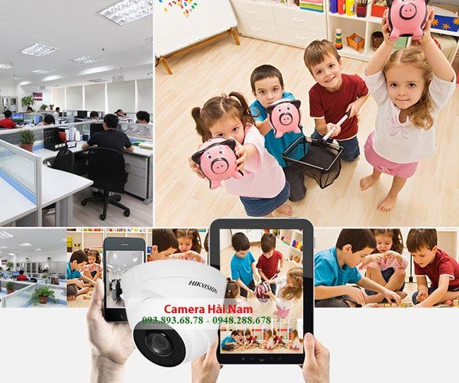 Camera Hikvision DS-2CE56F1T-ITP - Plastic Dome 3MP Hồng ngoại EXIR 20m