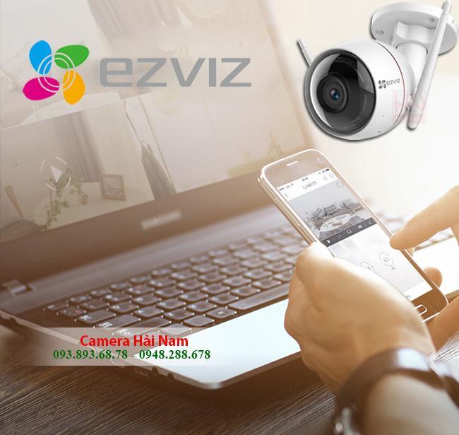 Camera EZViz wifi ngoài trời 2M Full HD
