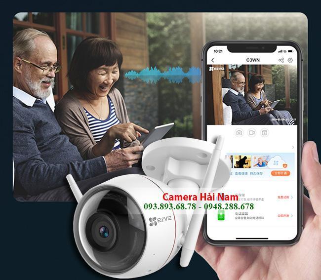 Camera EZViz wifi ngoài trời giá rẻ