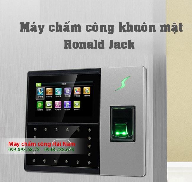 Máy chấm công khuôn mặt Ronald Jack IFACE 05 & vân tay chính hãng GIẢM LỚN