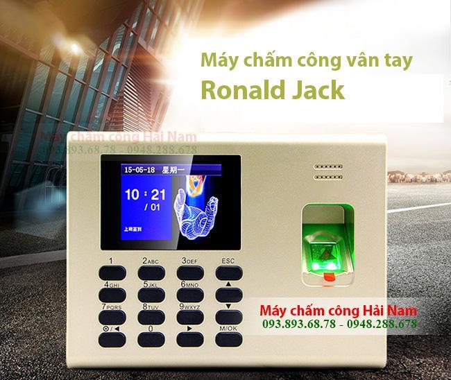 Máy chấm công Ronald Jack RJ 1200 công nghệ Malaysia cao cấp, tiện dụng