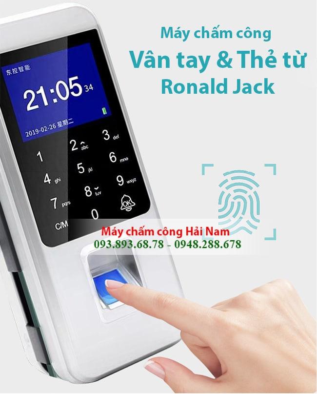 May cham cong van tay the tu Roanld jack 3