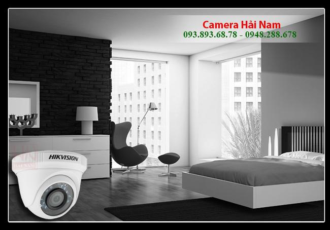 Camera Hikvision DS-2CE56D0T-IR 2MP Full HD 1080P dome hồng ngoại 20m