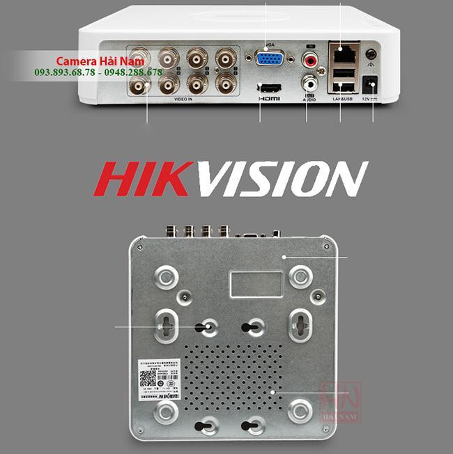 Đầu ghi hình camera IP DS-7108HQHI-K1 2MP Hikvision 8 kênh Turbo HD 4.0, H.265+