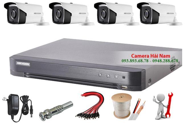 Đầu ghi hình 8 kênh DS-7208HQHI-K1 Hikvision 2MP Full HD chuẩn H.265+