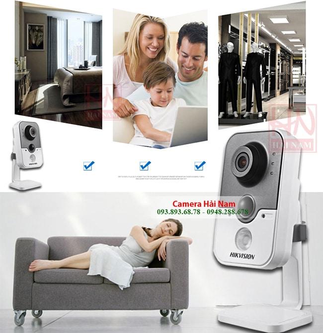 camera ip wifi hikvision 2mp full hd 1080p 6
