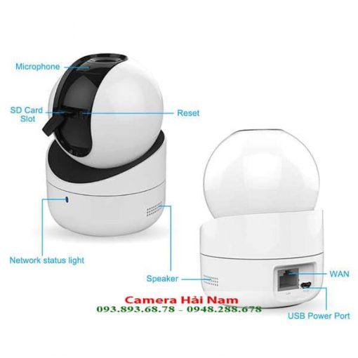 Camera Hikvision DS 2CV2Q21FD IW8