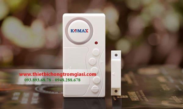 Thiết bị chống trộm gắn cửa độc lập Komax C03