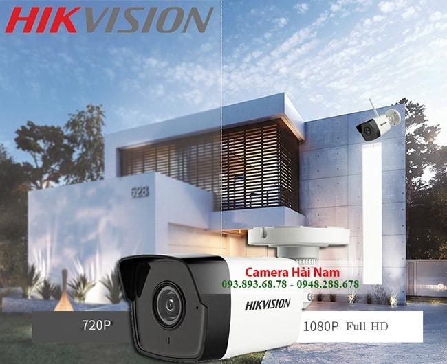 Camera IP Hikvision DS-2CD1021-I 2MP hồng ngoại 30 mét, chống nước tốt IP67