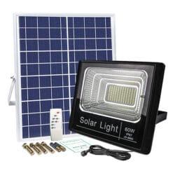 đèn pha năng lượng mặt trời 60W JD 8860