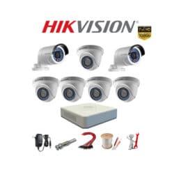 Trọn bộ 7 camera Hikvision 2MP Full HD 1080P [Giảm SỐC]