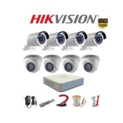 Trọn bộ 8 camera Hikvision 2MP Full HD 1080P [SIÊU ƯU ĐÃI]