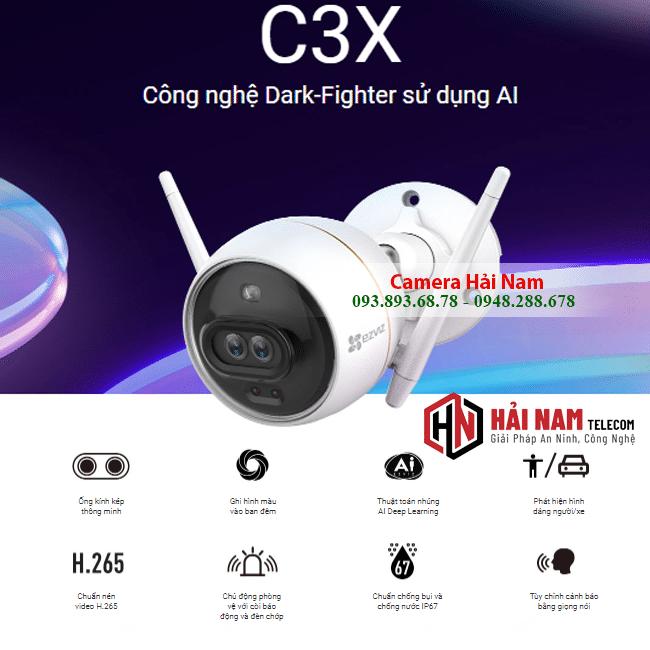 Camera ezviz c3x 2mp full hd 1080p 4