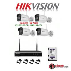Bộ Kit Camera Hikvision 4MP Không Dây Siêu Nét, Giá Rẻ