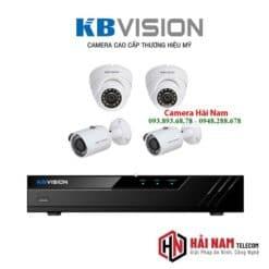 Trọn bộ 4 camera KBVision 5MP chính hãng, 4 in 1