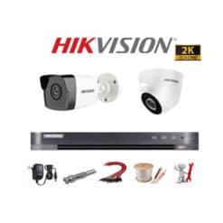 Trọn bộ 2 Camera Hikvision 5MP Siêu Nét